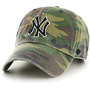 '47 Men's New York Yankees Camo Clean Up Adjustable Hat