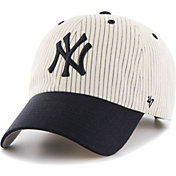 '47 Men's New York Yankees Navy Pinstripe Clean Up Adjustable Hat