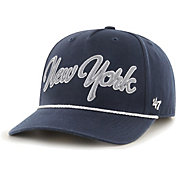 '47 Men's New York Yankees Navy Overhand Script MVP Adjustable Hat