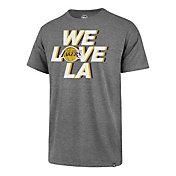 '47 Men's Los Angeles Lakers We Love LA Grey T-Shirt