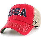 '47 Men's OHT Red Trawler Clean Up Adjustable Hat