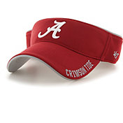 '47 Men's Alabama Crimson Tide Crimson Top Rope Adjustable Visor