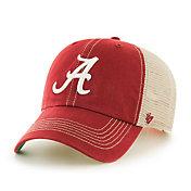 '47 Men's Alabama Crimson Tide Crimson Trawler Clean Up Adjustable Hat