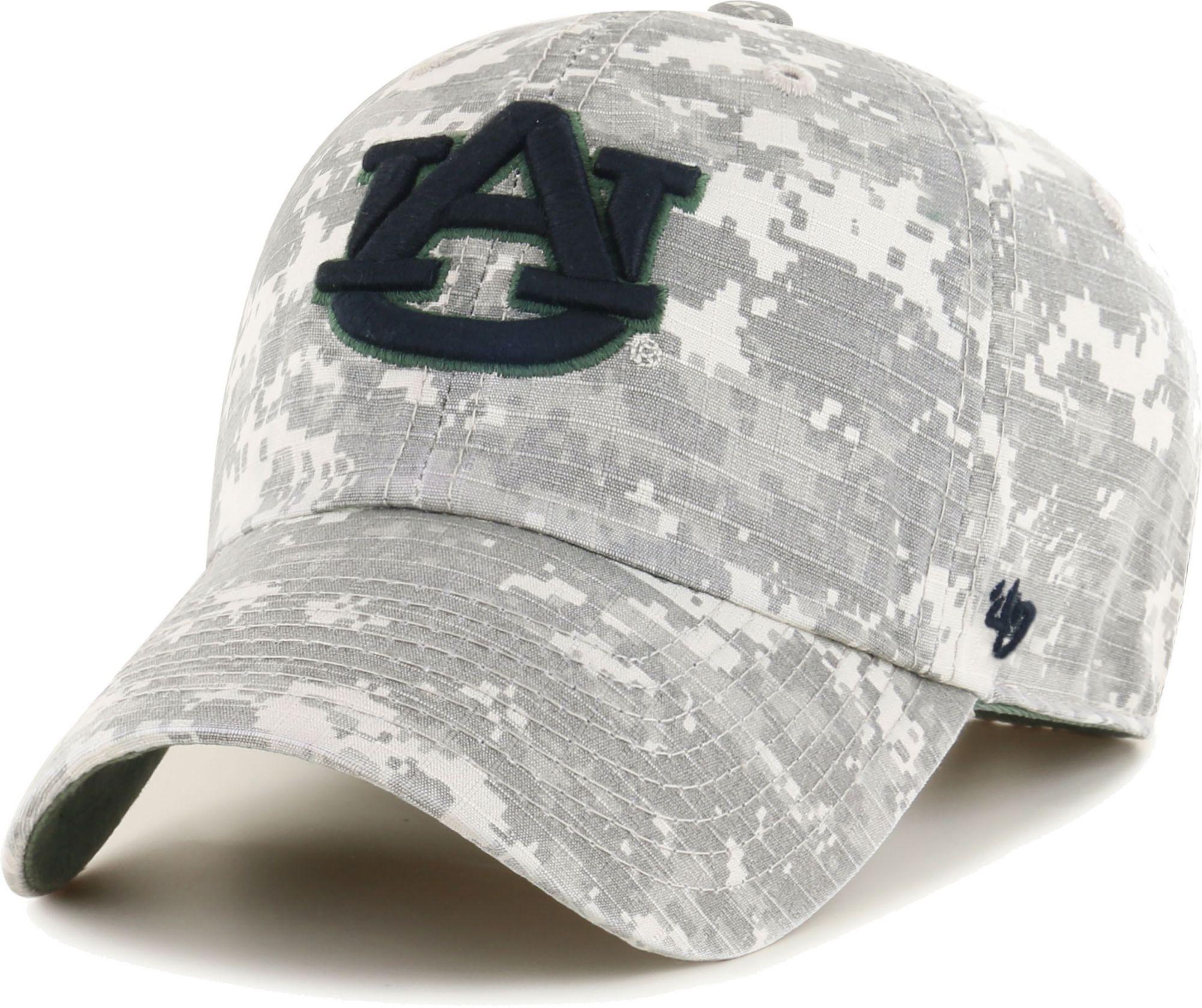 '47 Men's Auburn Camo OHT Clean Up Adjustable Hat, Size: One size, Green thumbnail