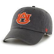 '47 Men's Auburn Tigers Grey Clean Up Adjustable Hat