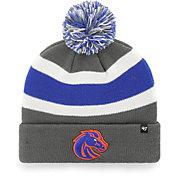 '47 Men's Boise State Broncos Grey Breakaway Cuffed Knit Hat