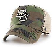 '47 Men's Baylor Bears Camo Burnett Clean Up Adjustable Hat