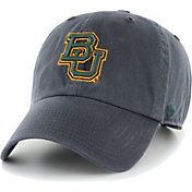 '47 Men's Baylor Bears Grey Clean Up Adjustable Hat