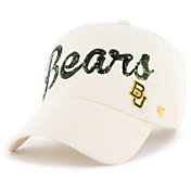 '47 Women's Baylor Bears Brown Sparkle Clean Up Adjustable Hat