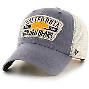 '47 Men's Cal Golden Bears Blue Crawford Clean Up Adjustable Hat