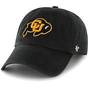 '47 Men's Colorado Buffaloes Clean Up Adjustable Black Hat