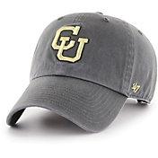 '47 Men's Colorado Buffaloes Grey Clean Up Adjustable Hat