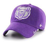'47 Women's Central Arkansas Bears  Purple Sparkle Clean Up Adjustable Hat