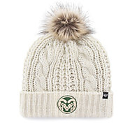 '47 Women's Colorado State Rams White Meeko Cuffed Knit Hat