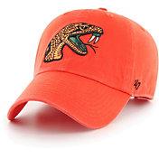 '47 Men's Florida A&M Rattlers Orange Clean Up Adjustable Hat