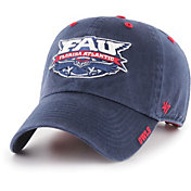 '47 Men's Florida Atlantic Owls Blue Ice Clean Up Adjustable Hat