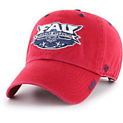 '47 Men's Florida Atlantic Owls Red Ice Clean Up Adjustable Hat