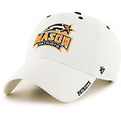 '47 Men's George Mason Patriots Ice Clean Up Adjustable White Hat