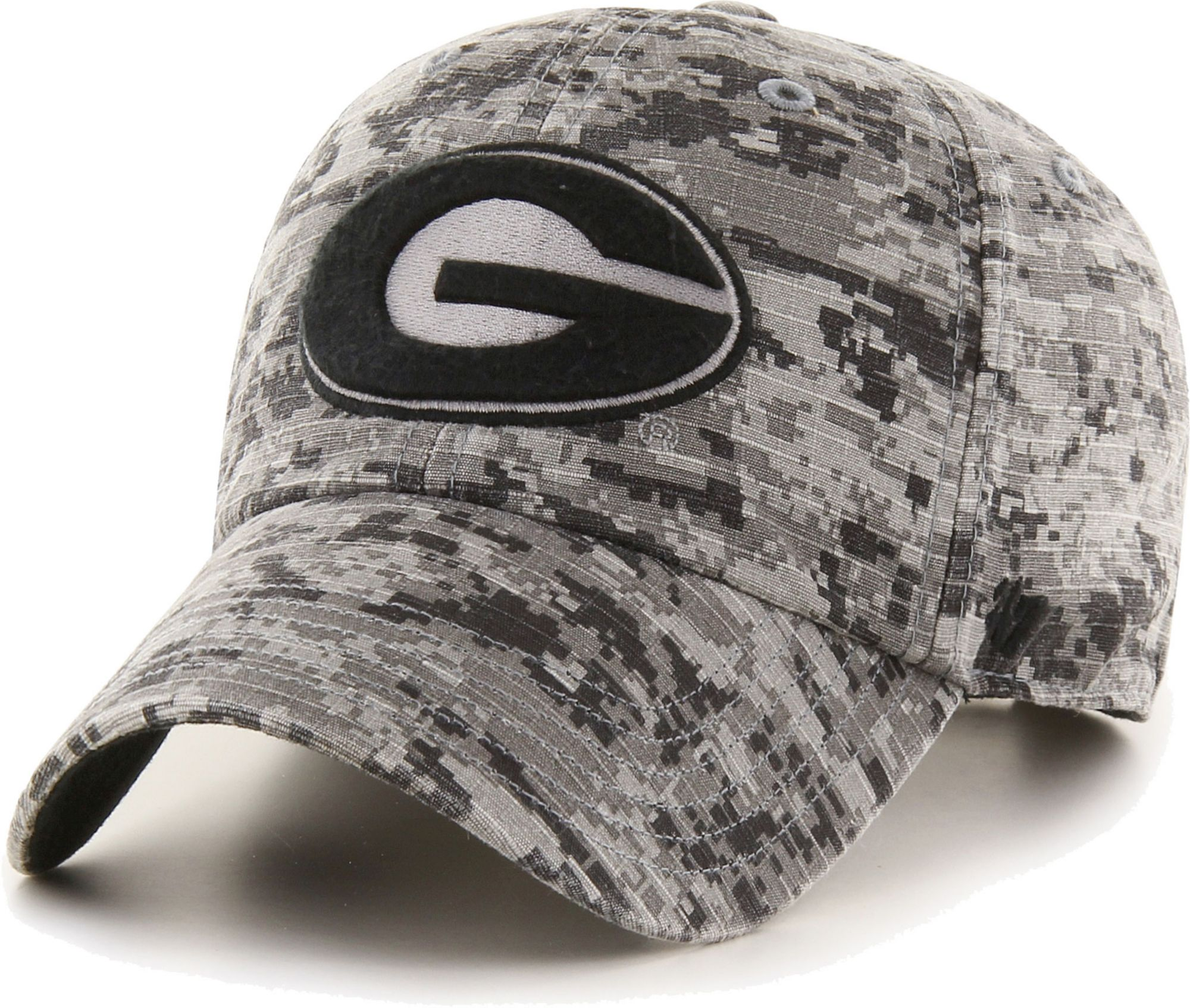 '47 Men's Georgia Camo OHT Clean Up Adjustable Hat, Size: One size, Green thumbnail