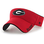 '47 Men's Georgia Bulldogs Red Top Rope Adjustable Visor