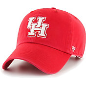 '47 Men's Houston Cougars Red Clean Up Adjustable Hat