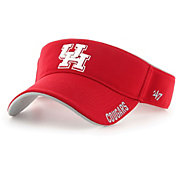 '47 Men's Houston Cougars Red Top Rope Adjustable Visor