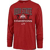 '47 Men's 2021 Allstate Sugar Bowl Champions Ohio State Buckeyes Long Sleeve T-Shirt