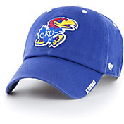 '47 Men's Kansas Jayhawks Blue Ice Clean Up Adjustable Hat
