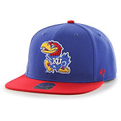 '47 Men's Kansas Jayhawks Blue Sure Shot Captain Adjustable Hat