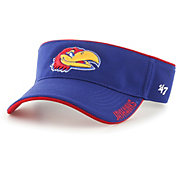 '47 Men's Kansas Jayhawks Blue Top Rope Adjustable Visor