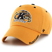 '47 Men's Kent State Golden Flashes Gold Ice Clean Up Adjustable Hat