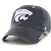 '47 Men's Kansas State Wildcats Grey Ice Clean Up Adjustable Hat