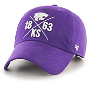 '47 Men's Kansas State Wildcats Purple East Side Clean Up Adjustable Hat