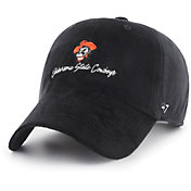 '47 Women's Oklahoma State Cowboys Paris Clean Up Adjustable Black Hat