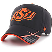 '47 Men's Oklahoma State Cowboys Sensei MVP Adjustable Black Hat