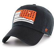 '47 Men's Oklahoma State Cowboys Sure Shot Clean Up Adjustable Black Hat
