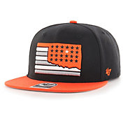 '47 Men's Oklahoma State Cowboys Black Sure Shot Captain Adjustable Hat