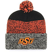 '47 Men's Oklahoma State Cowboys Static Cuffed Knit Black Hat
