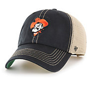 '47 Men's Oklahoma State Cowboys Black Trawler Adjustable Hat