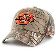 '47 Men's Oklahoma State Cowboys Camo Realtree Clean Up Adjustable Hat