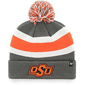 '47 Men's Oklahoma State Cowboys Grey Breakaway Cuffed Knit Hat
