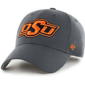 '47 Men's Oklahoma State Cowboys Grey MVP Adjustable Hat