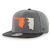 '47 Men's Oklahoma State Cowboys Grey Sure Shot Captain Adjustable Hat