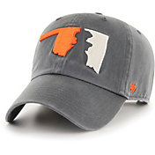'47 Men's Oklahoma State Cowboys Grey Sure Shot Clean Up Adjustable Hat