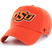 '47 Men's Oklahoma State Cowboys Orange Clean Up Adjustable Hat