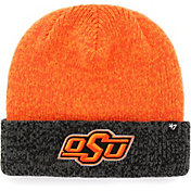 '47 Men's Oklahoma State Cowboys Orange Marl Two Tone Cuffed Knit Beanie