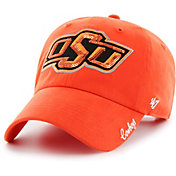 '47 Women's Oklahoma State Cowboys Orange Sparkle Clean Up Adjustable Hat