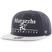 '47 Men's Old Dominion Monarchs Blue Rosemont Captain Adjustable Hat