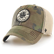 '47 Men's Louisiana-Lafayette Ragin' Cajuns Camo Burnett Clean Up Adjustable Hat