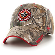 '47 Men's Louisiana-Lafayette Ragin' Cajuns Camo Realtree Frost MVP Adjustable Hat